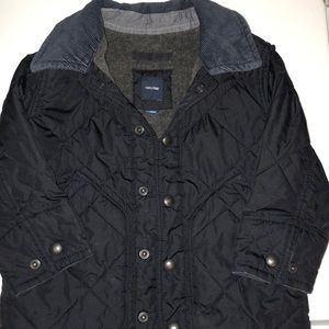 Gap navy blue fall to early winter jacket 18-24
